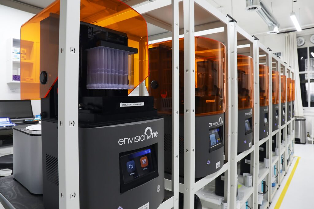 Envisiontec machines display