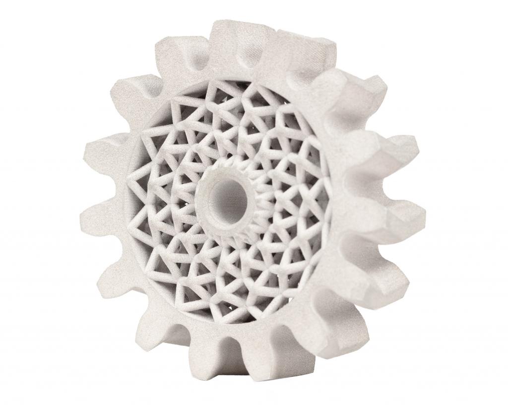 3D printed herringbone with 4140 steel